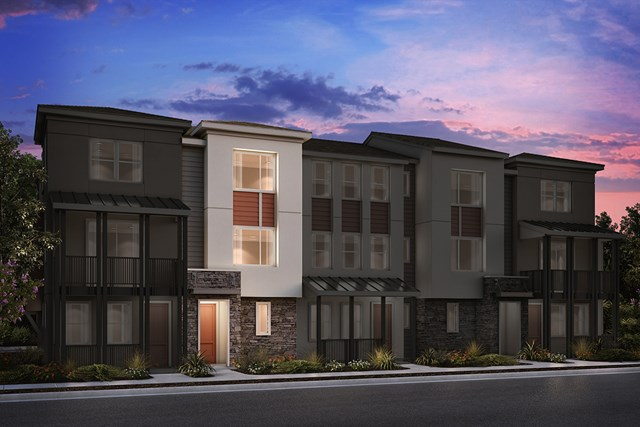New Homes in Milpitas , CA - 5-Plex Elevation A