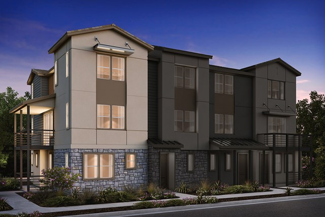 New Homes in Milpitas , CA - 4-Plex Elevation B (Additional)