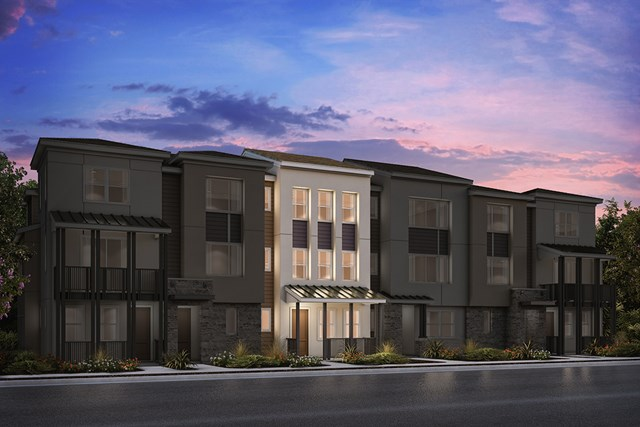 New Homes in Milpitas , CA - 6-Plex Elevation A (Additional)