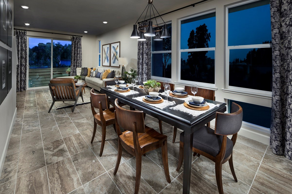 New Homes in Milpitas , CA - Circuit Plan 2 Dining Room