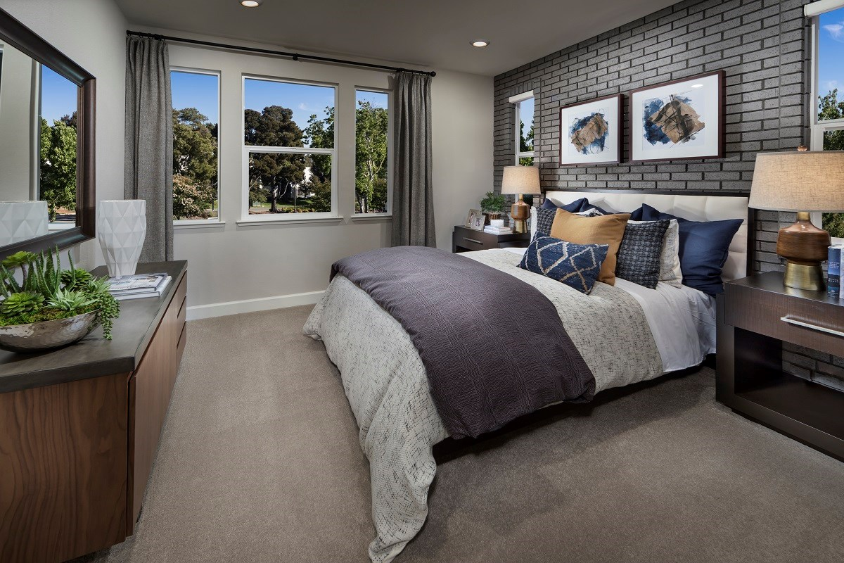 New Homes in Milpitas , CA - Circuit Plan 2 Master Bedroom