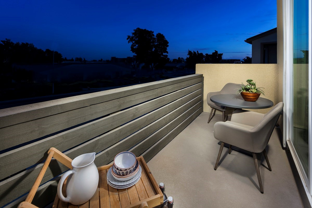New Homes in Milpitas , CA - Circuit Plan 2 Outdoor Deck