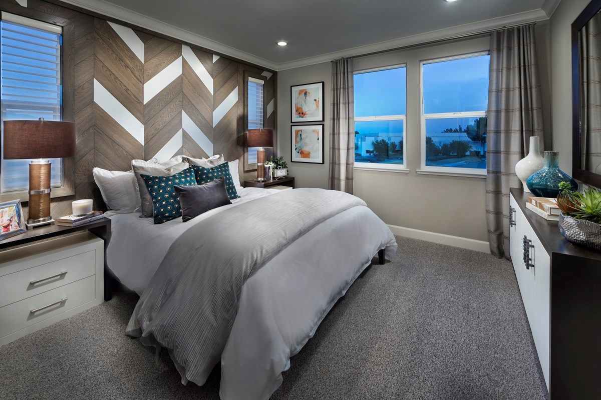 New Homes in Milpitas , CA - Circuit Plan 2 ALT Master Bedroom