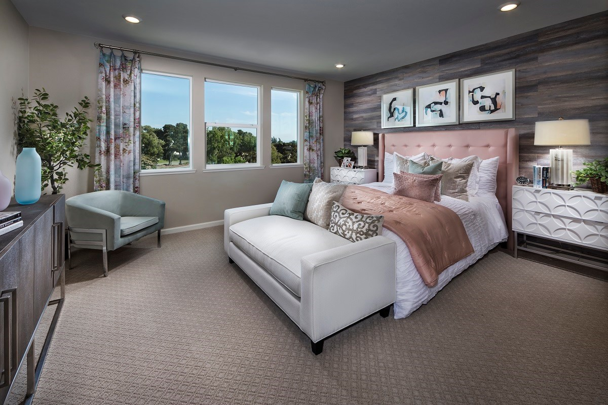 New Homes in Milpitas , CA - Circuit Plan 3 ALT Master Bedroom