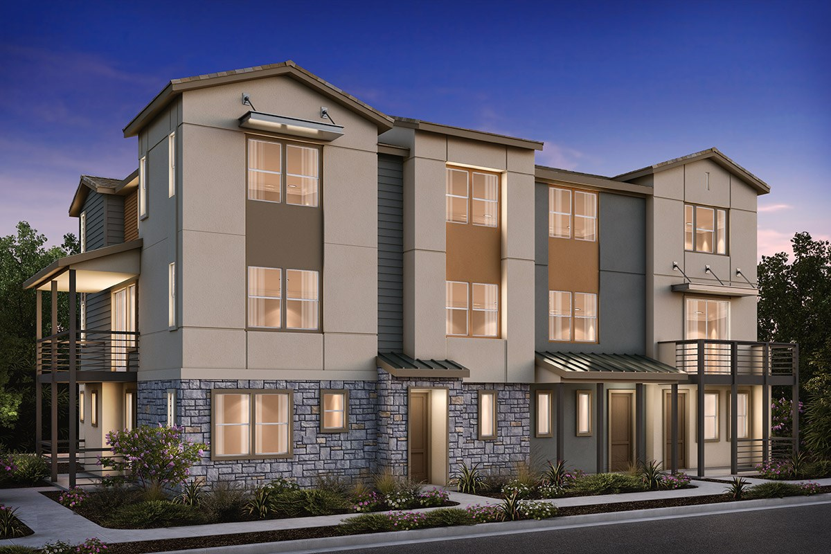 New Homes in Milpitas , CA - Circuit 4-Plex Building 1BX