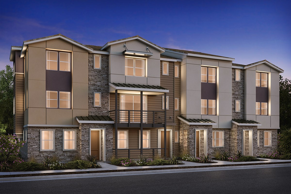 New Homes in Milpitas , CA - Circuit 4-Plex Building 2B