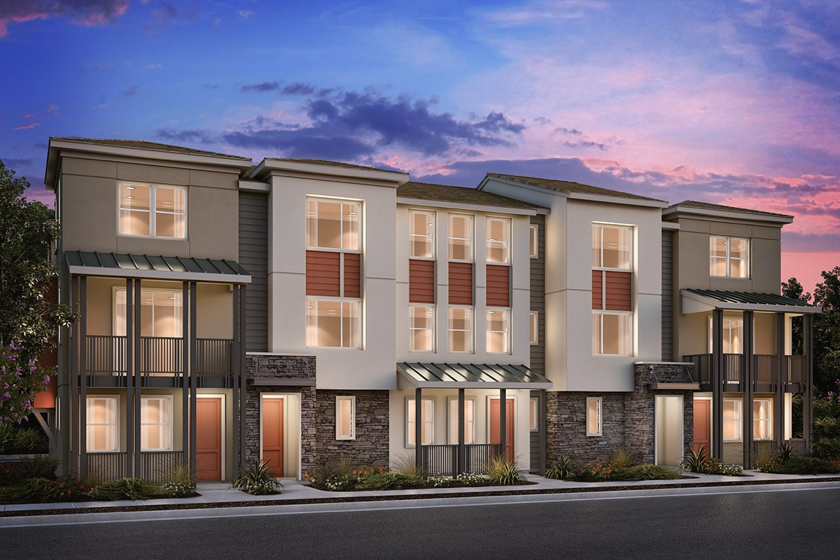 New Homes in Milpitas , CA - Circuit 5-Plex Building 3A