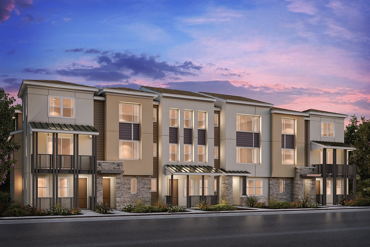 New Homes in Milpitas , CA - Circuit 6-Plex Building 5A