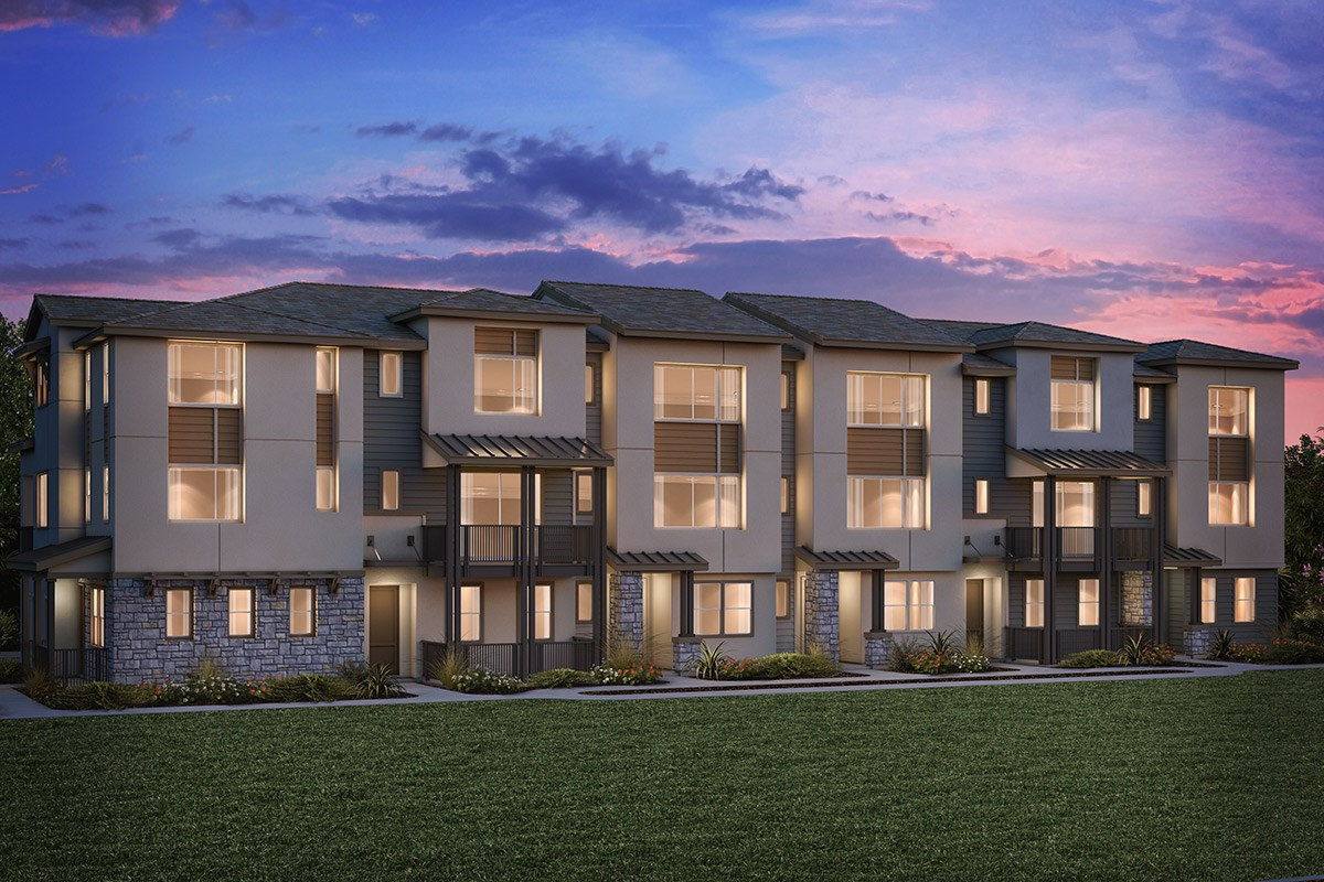New Homes in Milpitas , CA - Circuit 6-Plex Building 6A