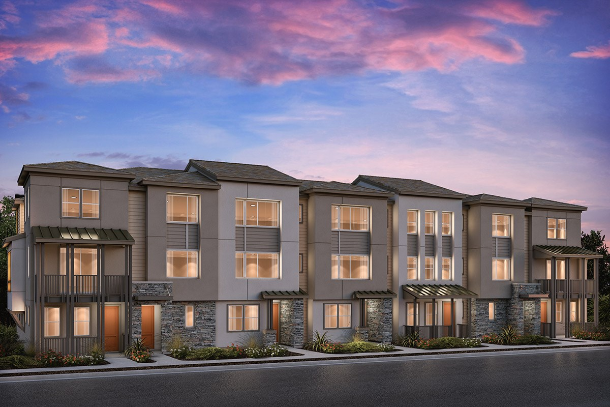 New Homes in Milpitas , CA - Circuit 7-Plex Building 7A