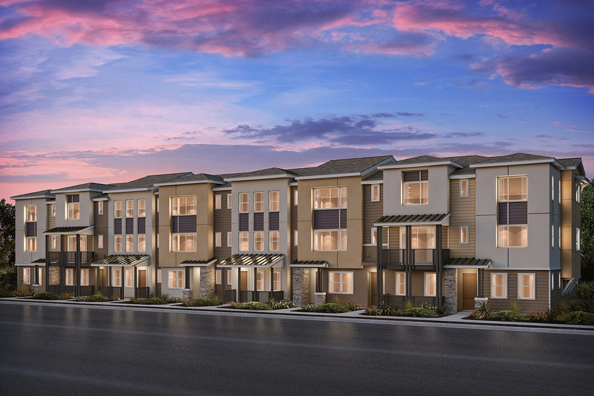New Homes in Milpitas , CA - Circuit 8-Plex Building 8A