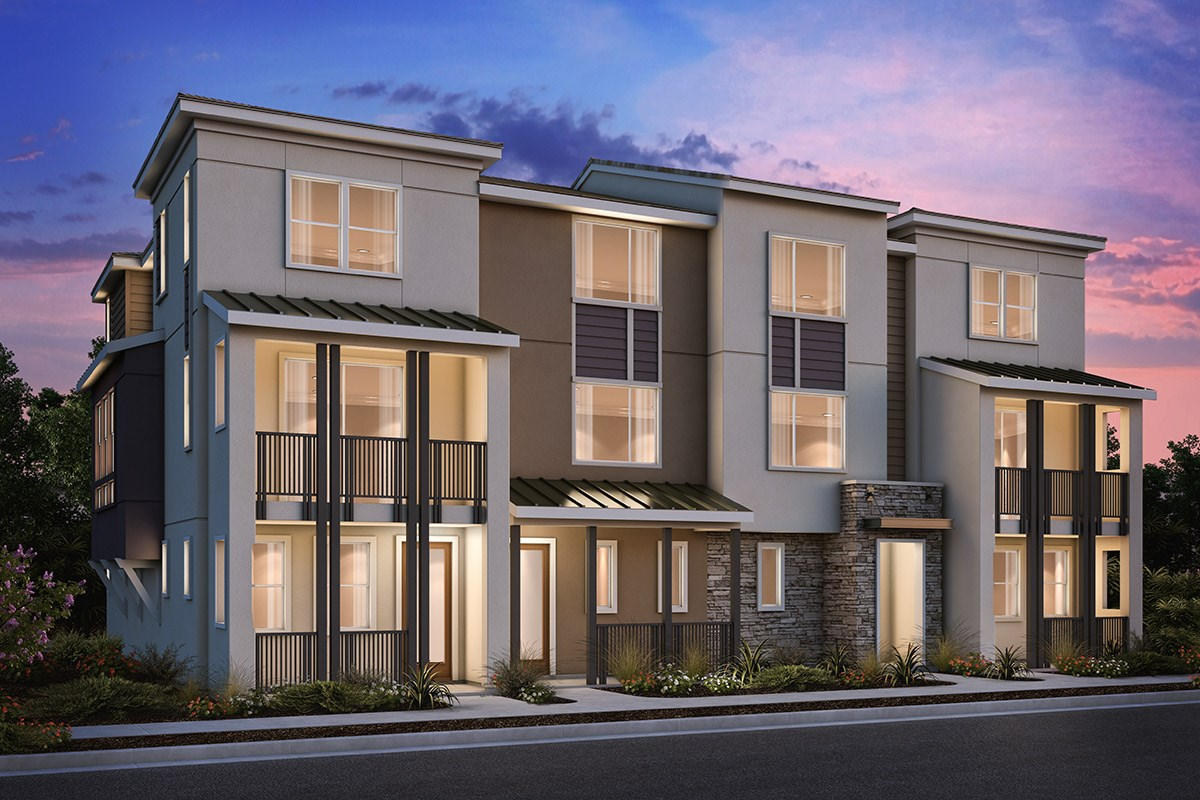 New Homes in Milpitas , CA - Circuit 4-Plex Building 1A