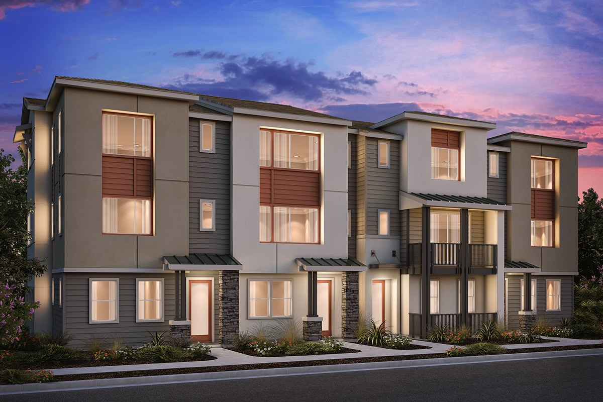 New Homes in Milpitas , CA - Circuit 4-Plex Building 2A