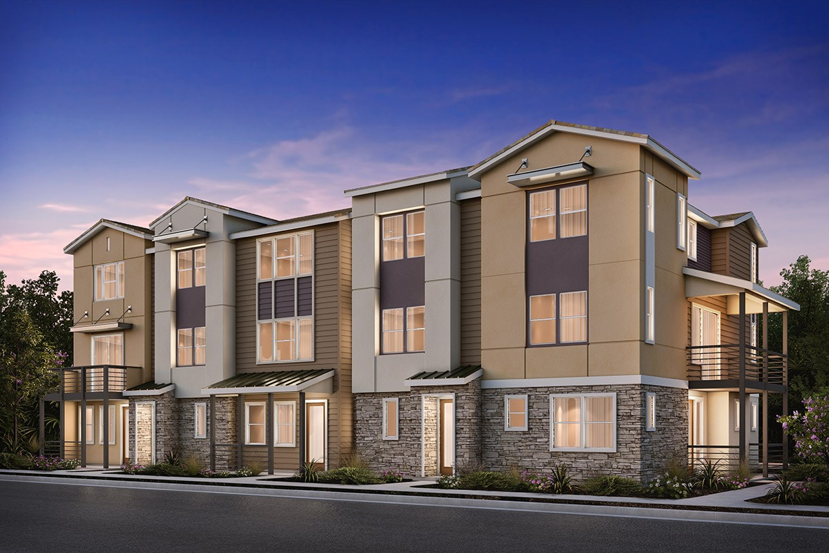 New Homes in Milpitas , CA - Circuit 5-Plex Building 3BX