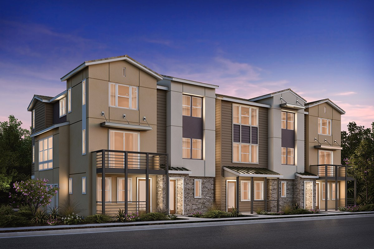 New Homes in Milpitas , CA - Circuit 5-Plex Building 3B