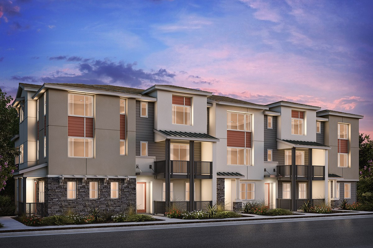 New Homes in Milpitas , CA - Circuit 5-Plex Building 4A