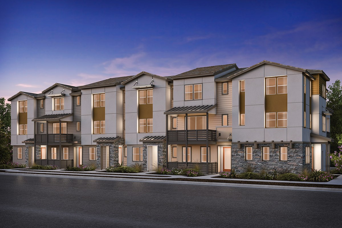 New Homes in Milpitas , CA - Circuit 6-Plex Building 6B
