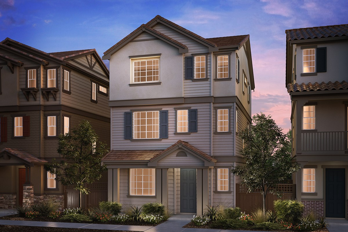 New Homes in Hayward, CA - Compass  Plan 1 Cape Cod