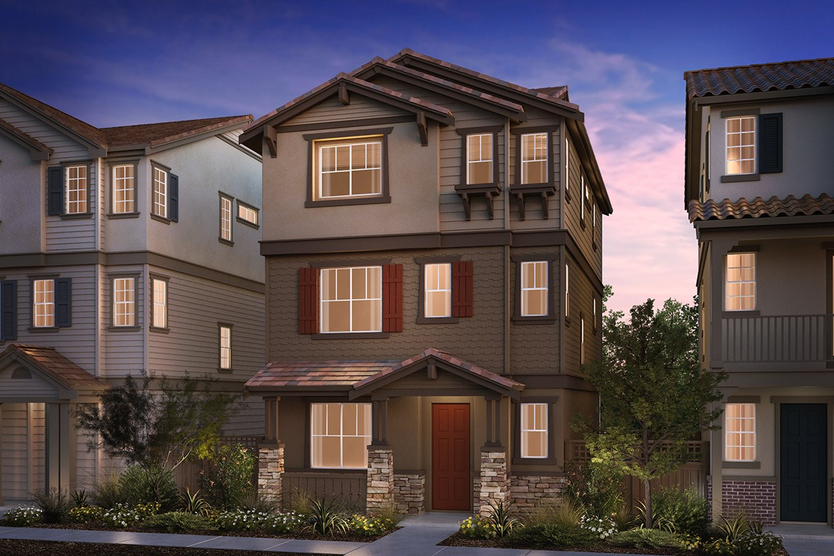 New Homes in Hayward, CA - Compass  Plan 1 Craftsman