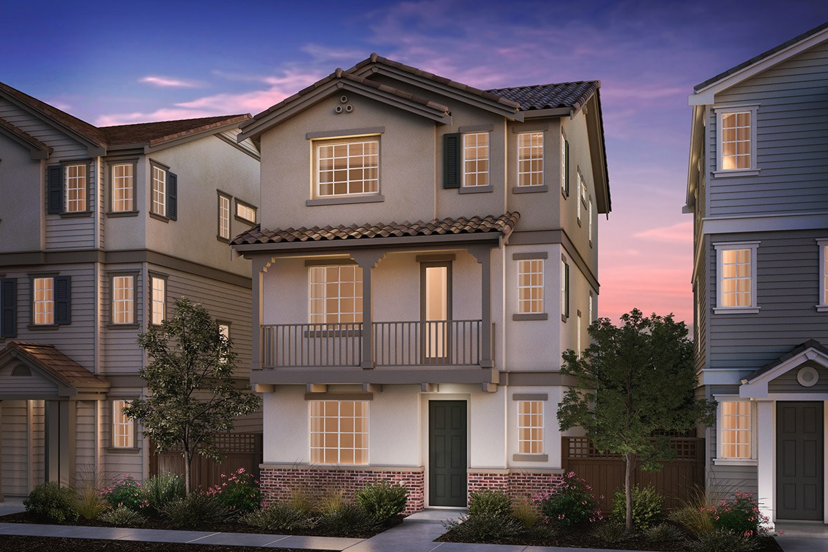 New Homes in Hayward, CA - Compass  Plan 1 Monterey