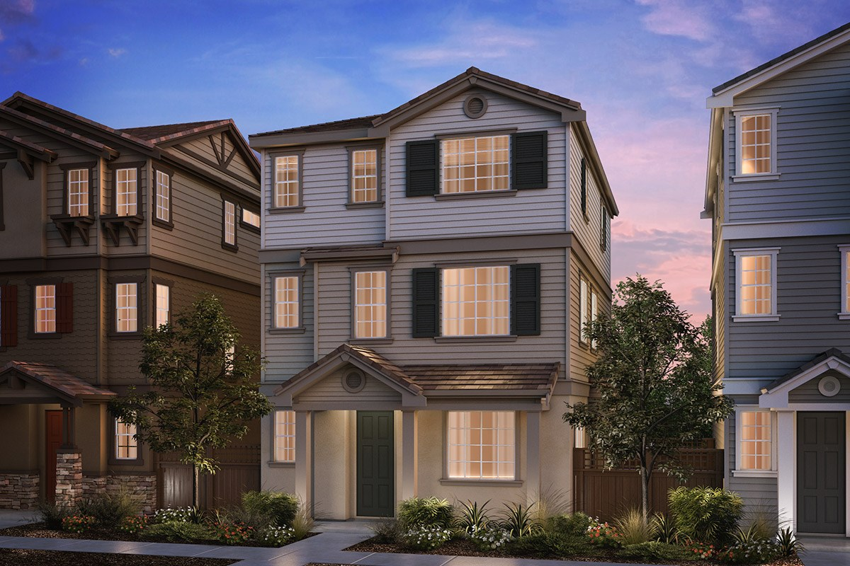 New Homes in Hayward, CA - Compass  Plan 2 Cape Cod