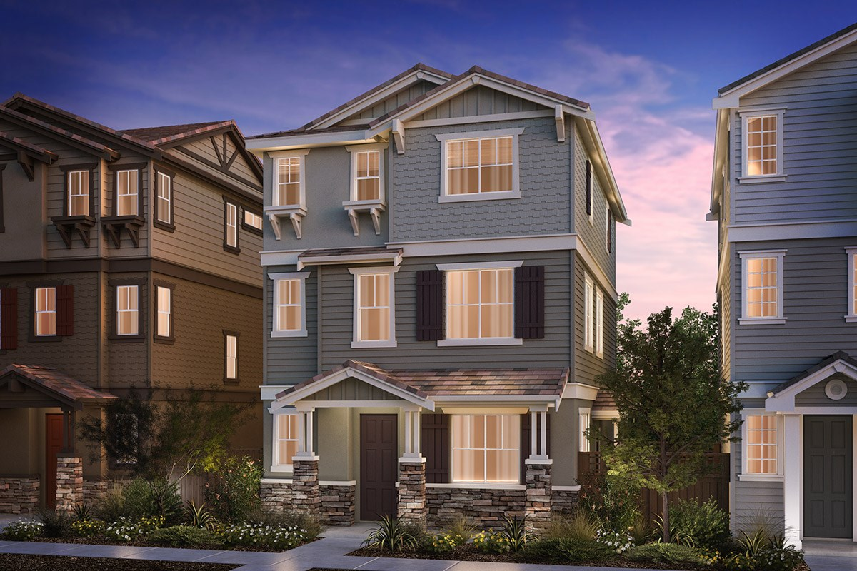 New Homes in Hayward, CA - Compass  Plan 2 Craftsman