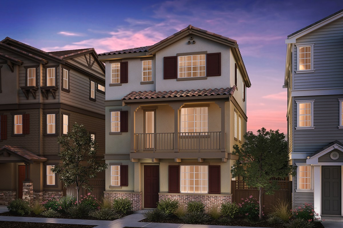 New Homes in Hayward, CA - Compass  Plan 2 Monterey