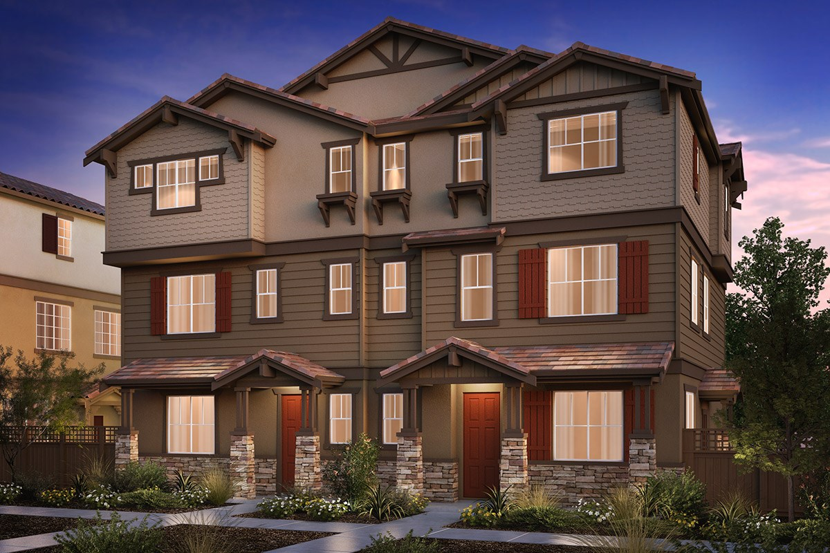 New Homes in Hayward, CA - Compass  Plan 2/3 Duet Craftsman