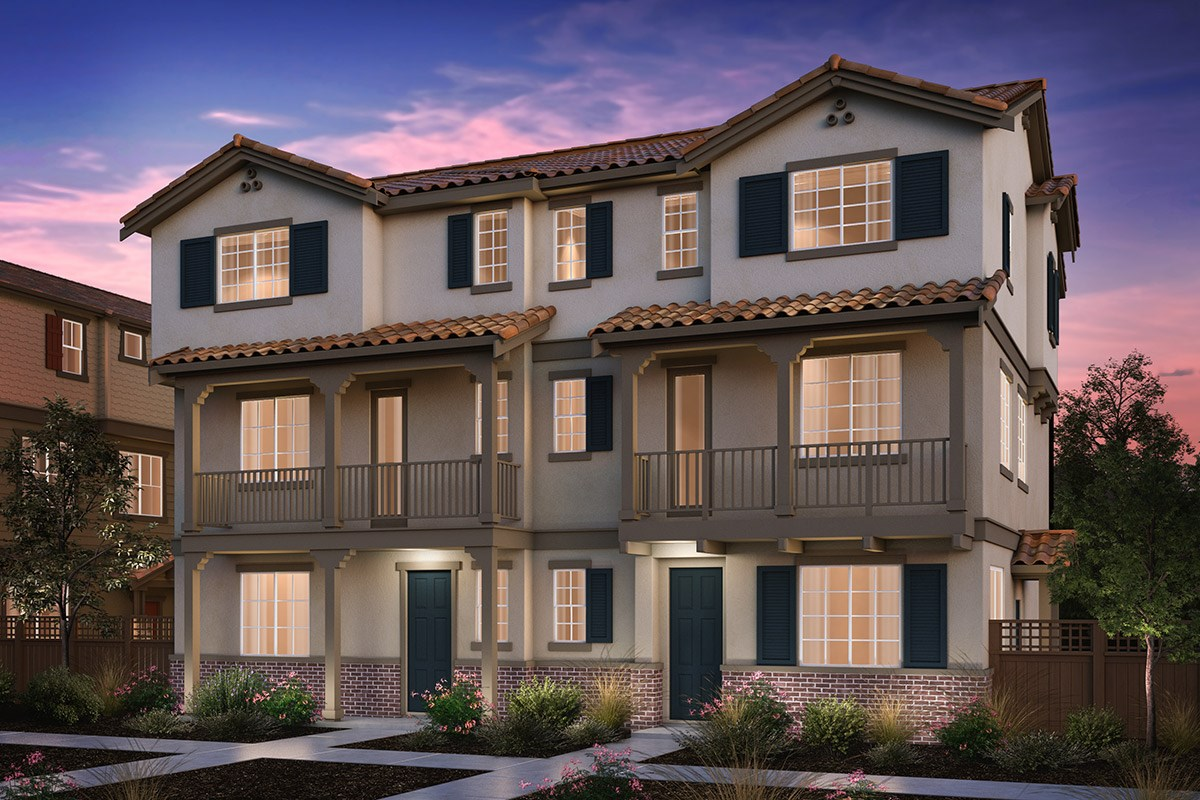 New Homes in Hayward, CA - Compass  Plan 2/3 Duet Monterey