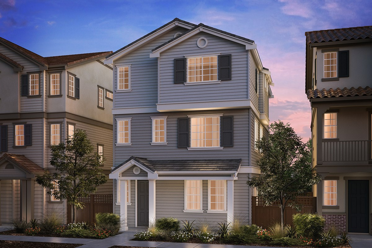 New Homes in Hayward, CA - Compass  Plan 3 Cape Cod