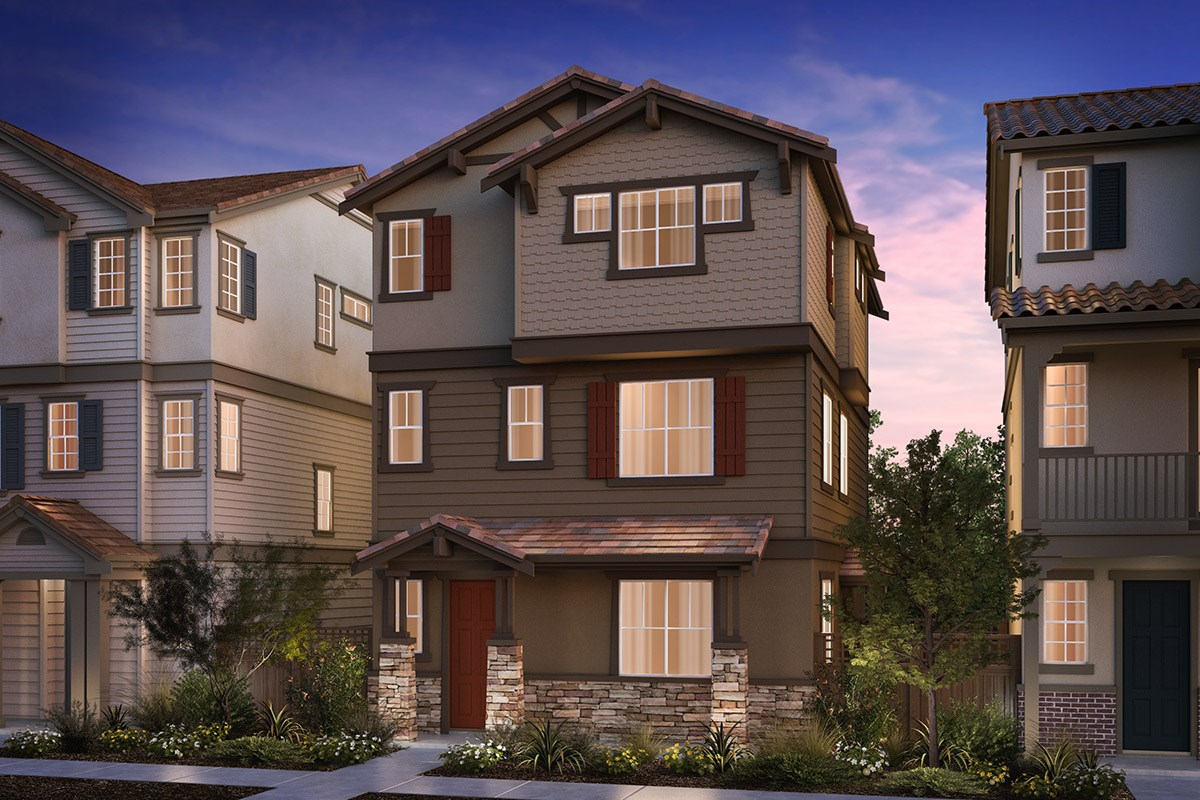 New Homes in Hayward, CA - Compass  Plan 3 Craftsman