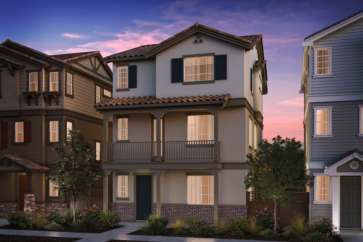 New Homes in Hayward, CA - Compass  Plan 3 Monterey