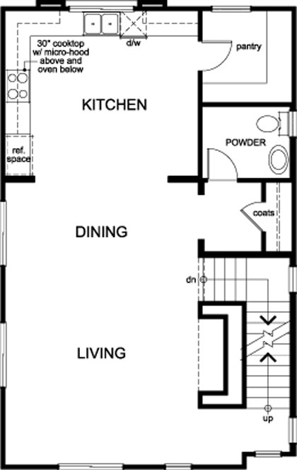 Plan 1 – New Home Floor Plan In Compass By Kb Home