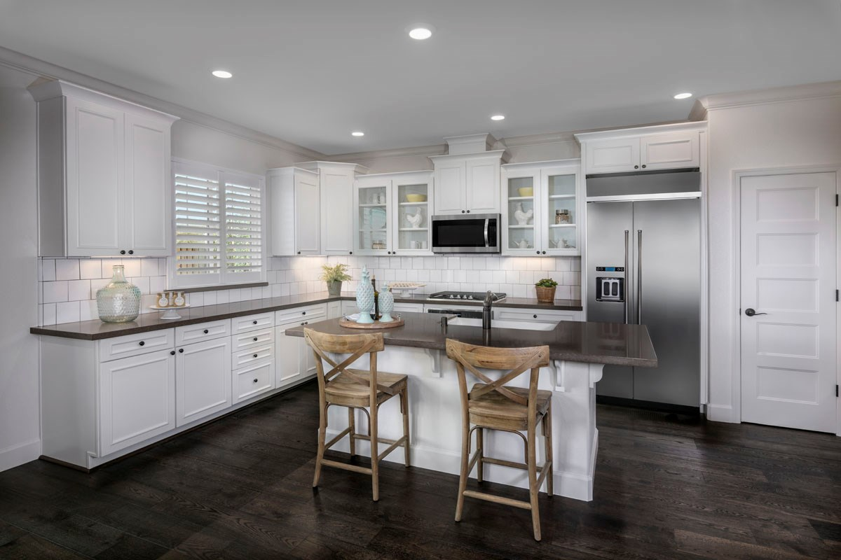 New Homes in Rohnert Park, CA - Cypress at University District Plan 1 Kitchen