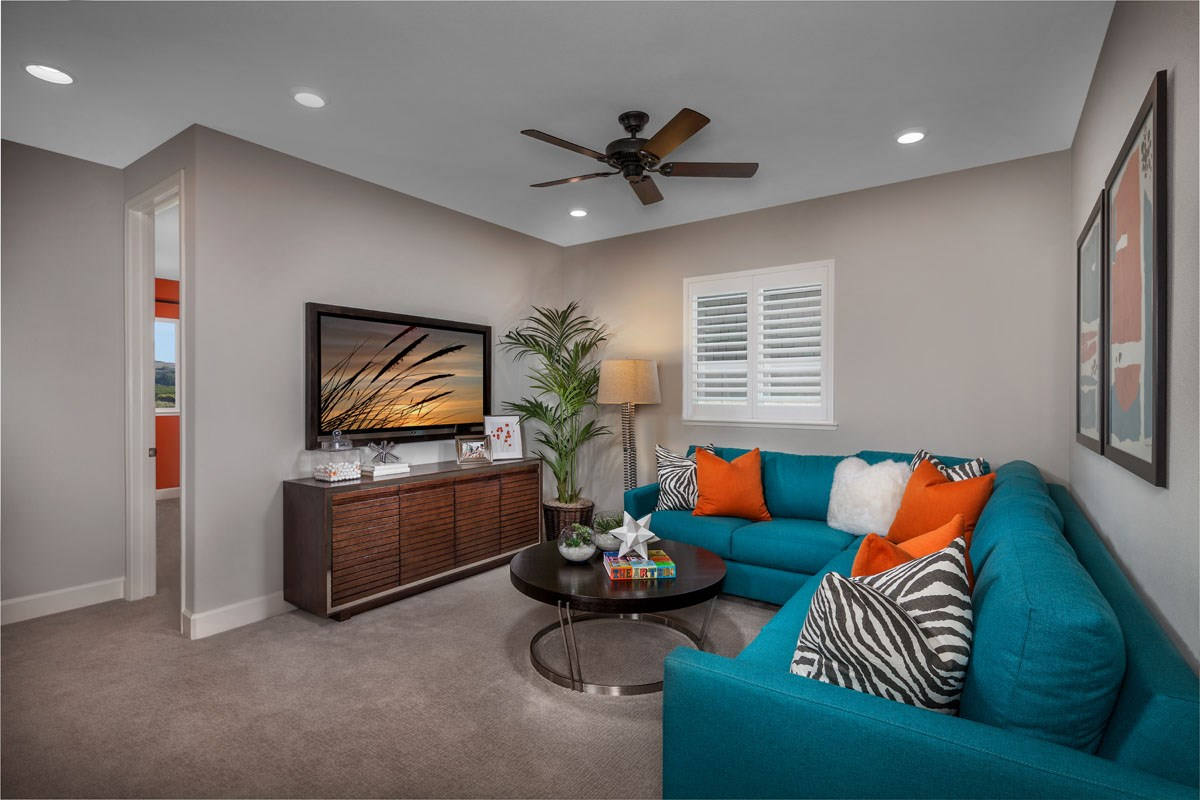 New Homes in Rohnert Park, CA - Cypress at University District Plan 3 Bonus Room