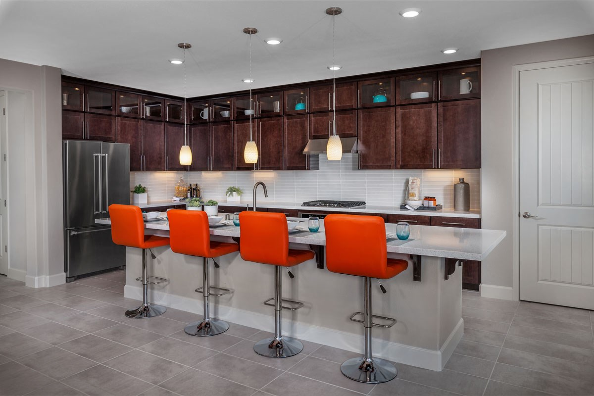 New Homes in Rohnert Park, CA - Cypress at University District Plan 3 Kitchen