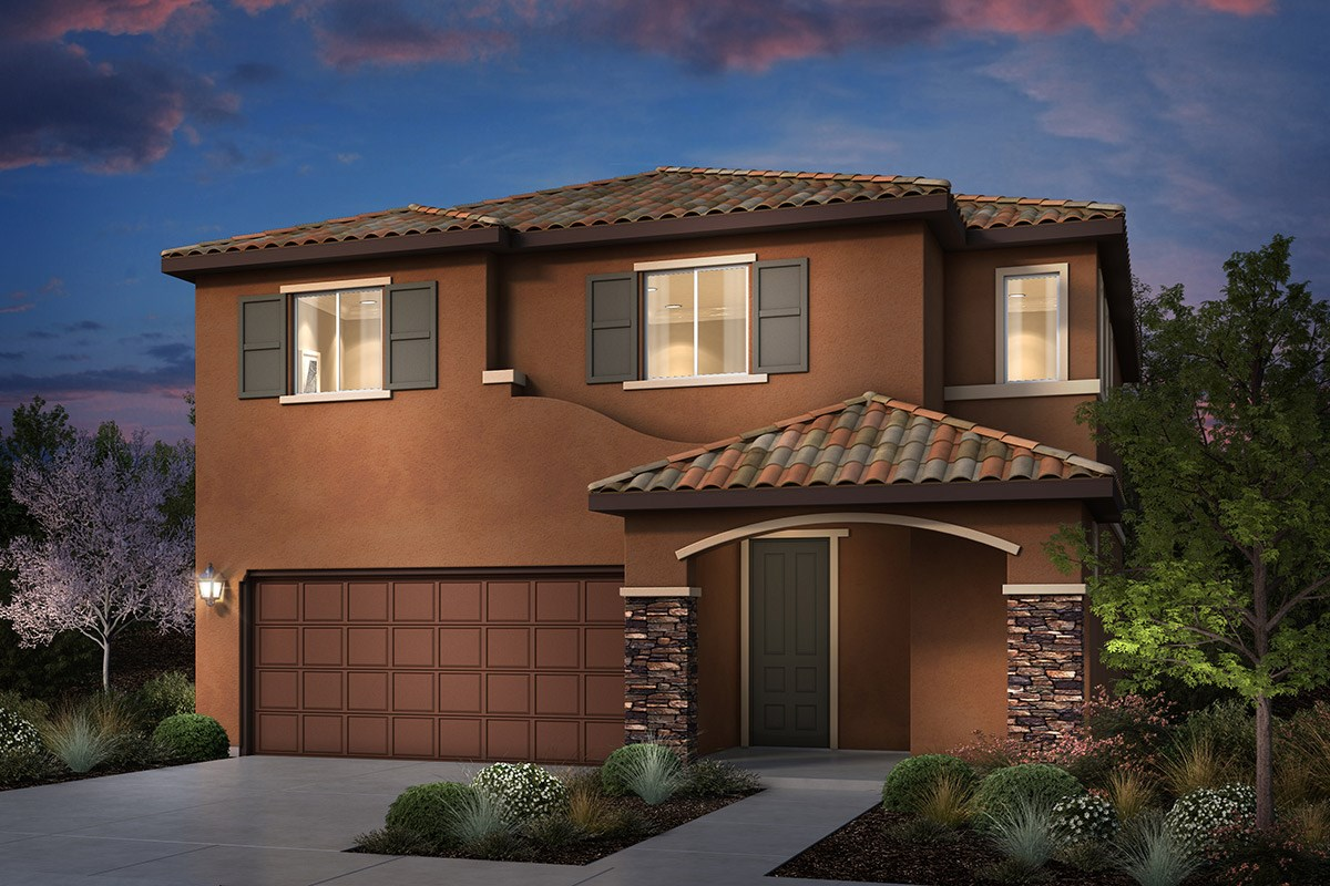 New Homes in Rohnert Park, CA - Cypress at University District Plan 1 Italian Country