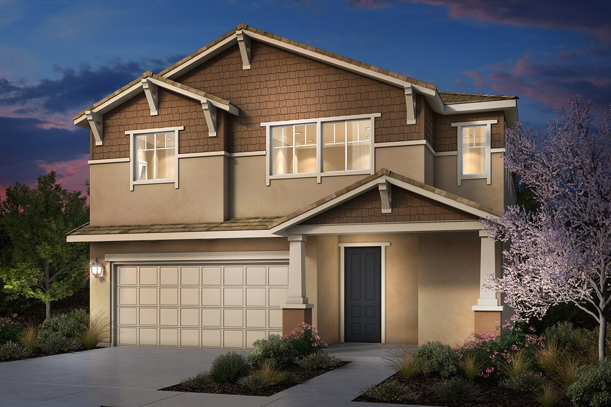 New Homes in Rohnert Park, CA - Cypress at University District Plan 1 Craftsman