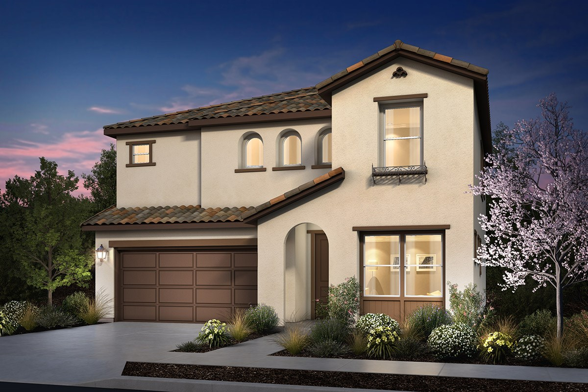 New Homes in Rohnert Park, CA - Cypress at University District Plan 2 Spanish Colonial