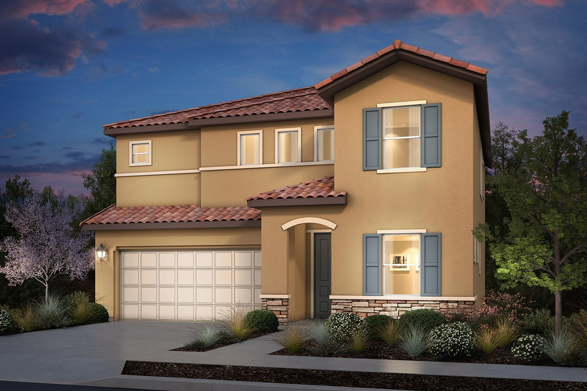 New Homes in Rohnert Park, CA - Cypress at University District Plan 2 Italian Country