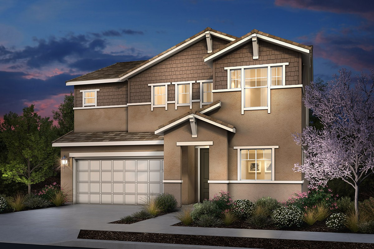 New Homes in Rohnert Park, CA - Cypress at University District Plan 2 Craftsman