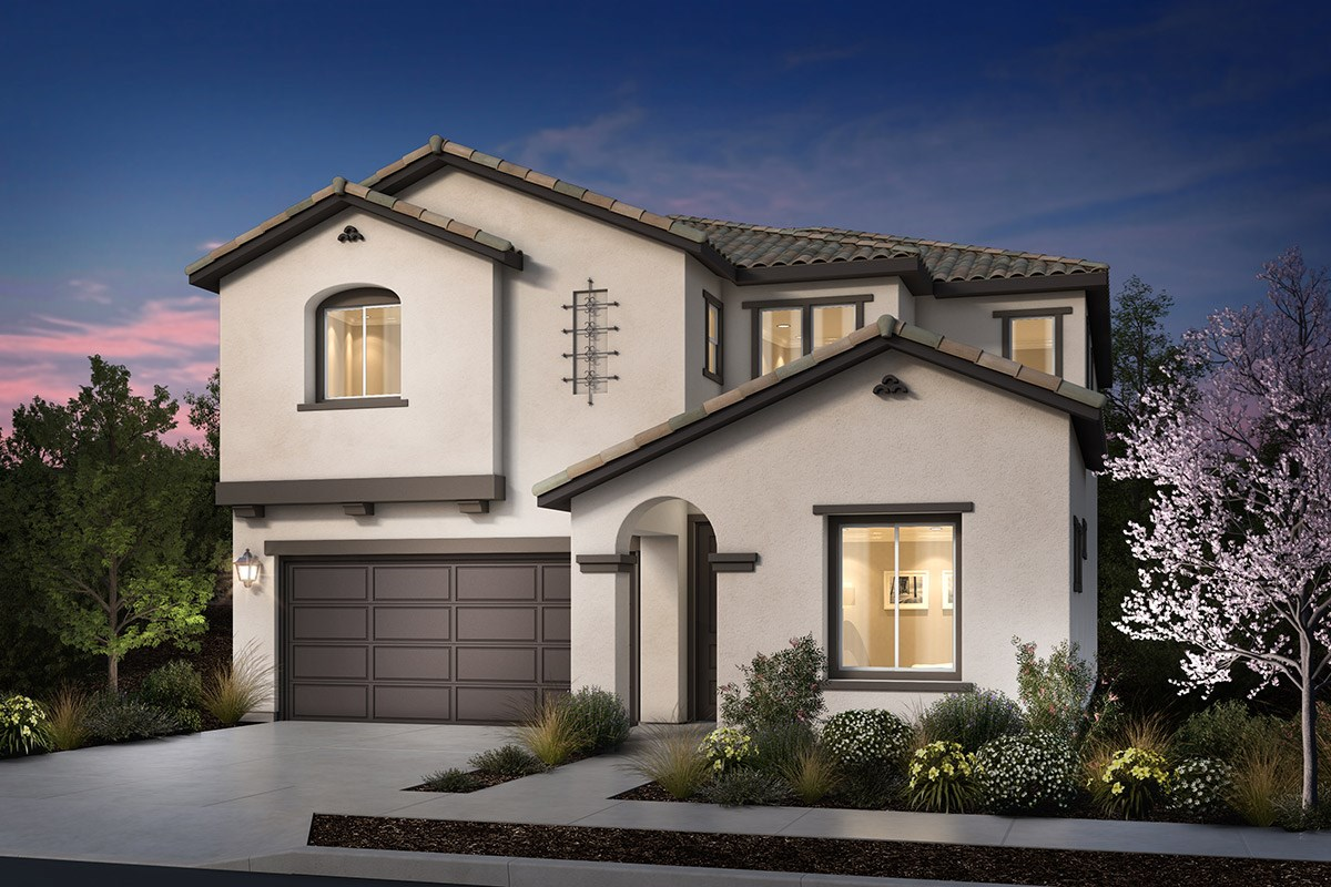 New Homes in Rohnert Park, CA - Cypress at University District Plan 3 Spanish Colonial