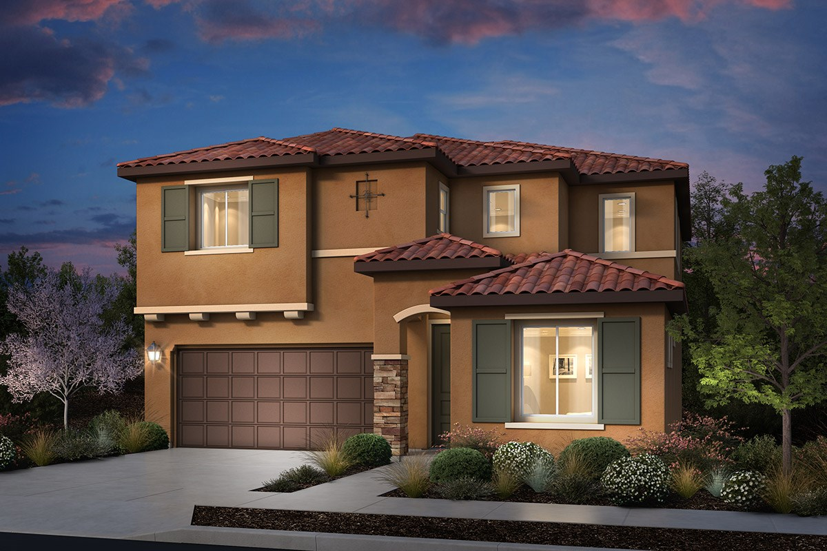 Plan 1 at cypress at university district in rohnert park for Italian country home plans