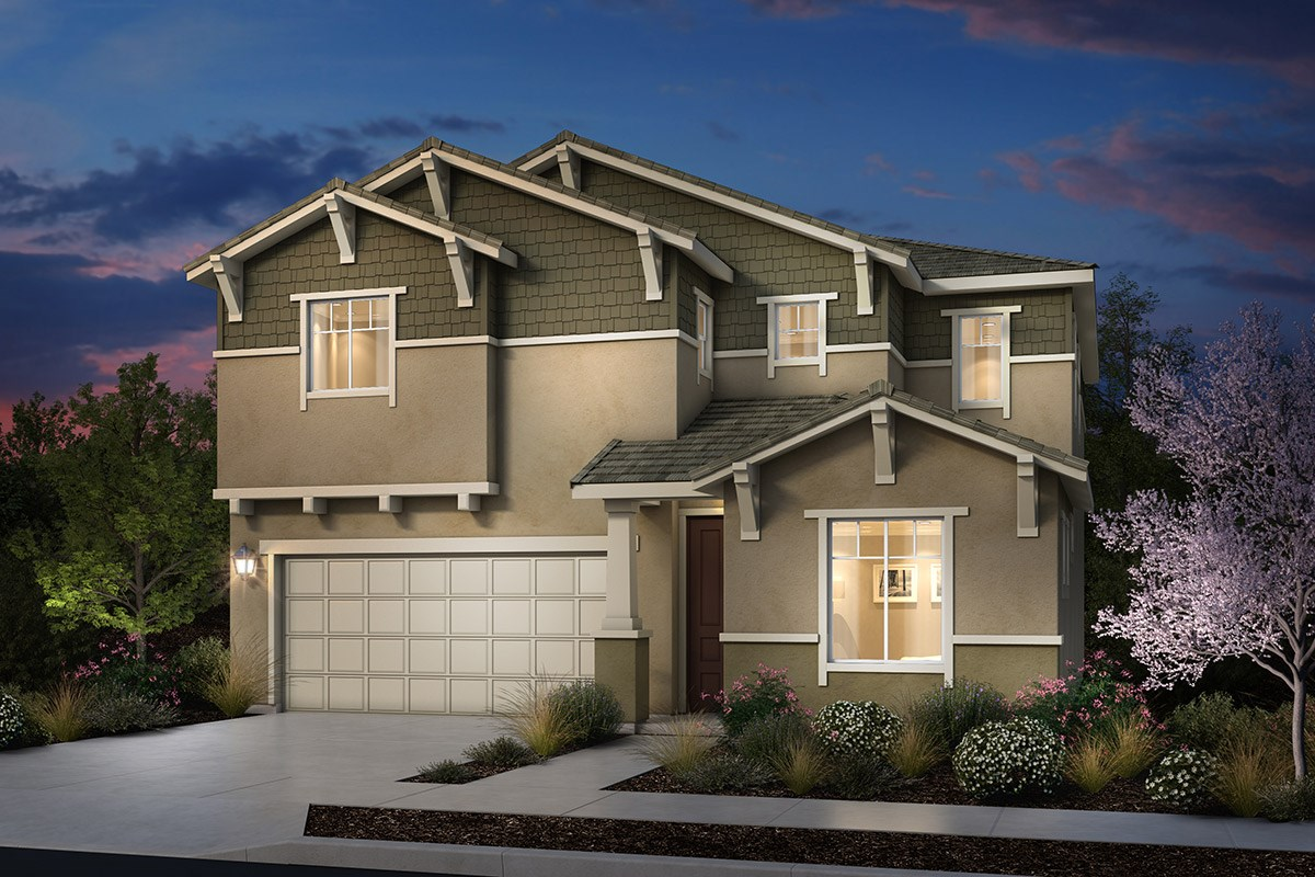 New Homes in Rohnert Park, CA - Cypress at University District Plan 3 Craftsman