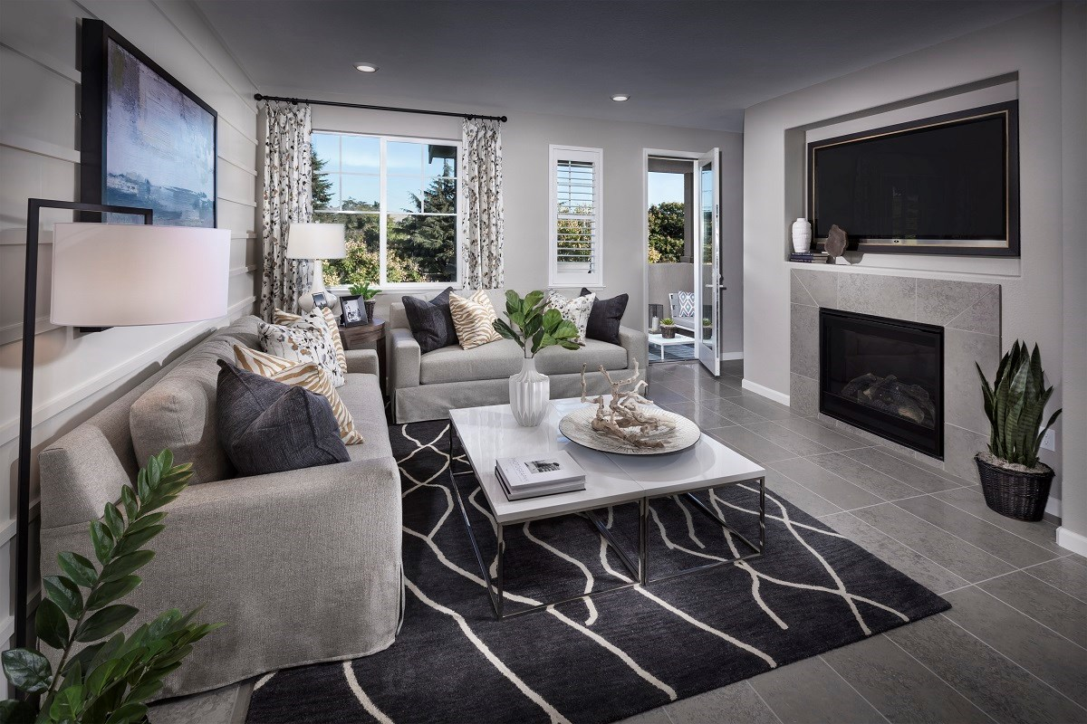 New Homes in Hayward, CA - Element Plan 2 Living Room