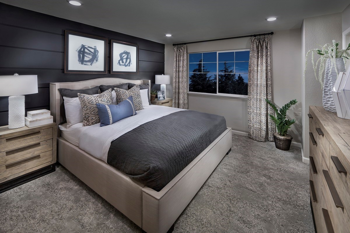 New Homes in Hayward, CA - Element Plan 2 Master Bedroom