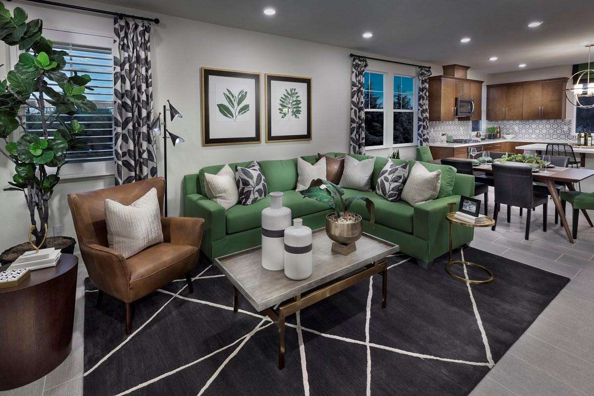 New Homes in Hayward, CA - Element Plan 3 Great Room