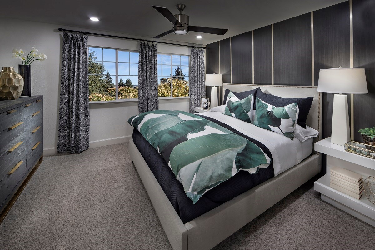 New Homes in Hayward, CA - Element Plan 3 Master Bedroom