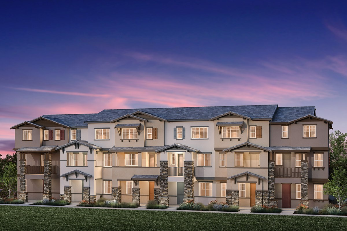 New Homes in Hayward, CA - Element 6-Plex Building B