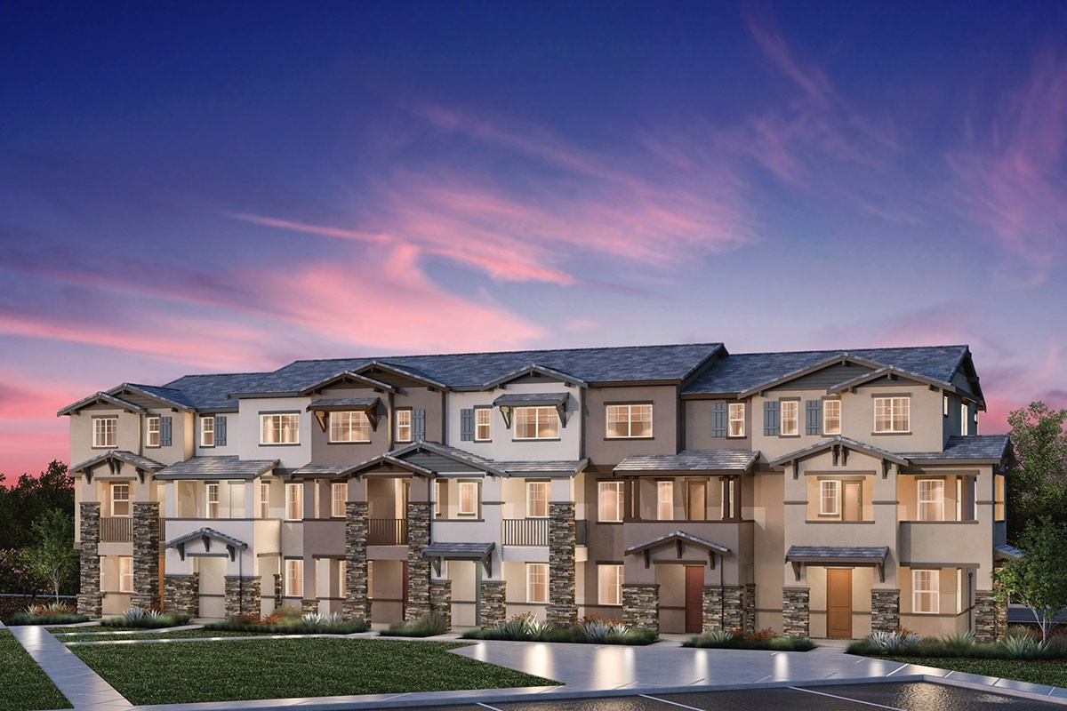 New Homes in Hayward, CA - Element 6-Plex Building C